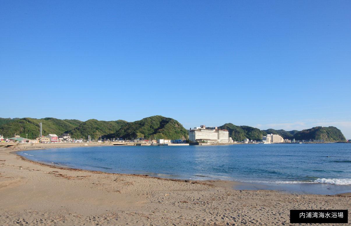 内浦湾海水浴場