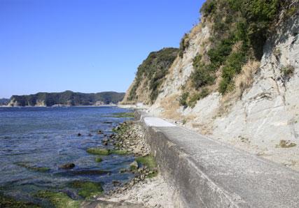 鯛の浦周辺散策-遊歩道