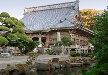 誕生寺-日蓮聖人ゆかりの寺