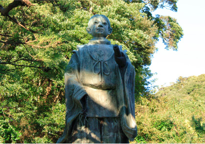 神秘の鯛と日蓮聖人